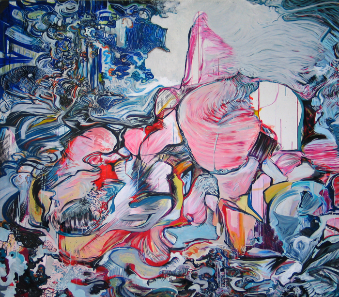 :: THE FOOL ON THE HILL :: OIL PAINT ON CANVAS / 180 X 200 CM / 2009