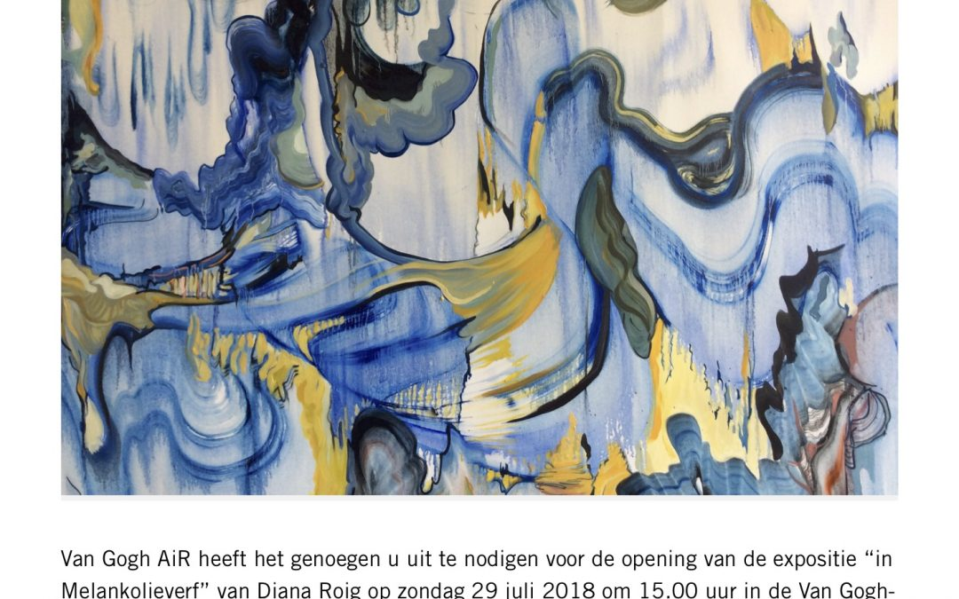 ARTIST IN RESIDENCE @ THE VINCENT VAN GOGH HUIS.